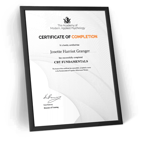 CBT professional certification