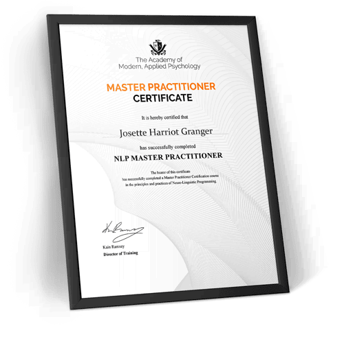 master practitioner nlp course certificate
